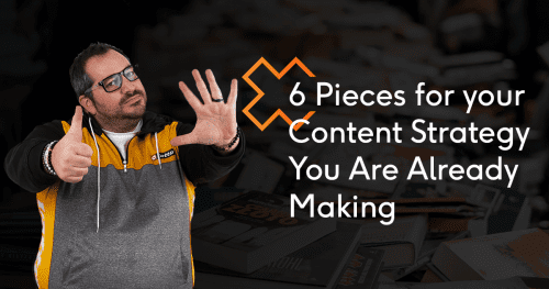 6 Pieces of content you are already making (but aren't in your content strategy)