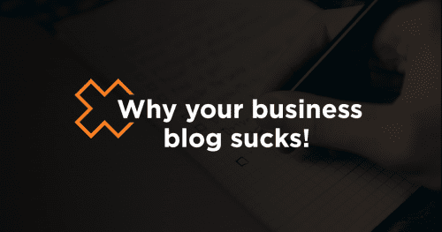 Why your business's blog sucks